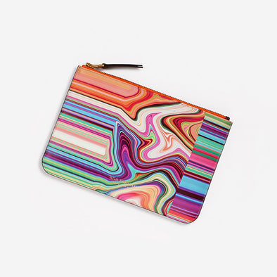 Multicolored bold accessory by Ana Romero.