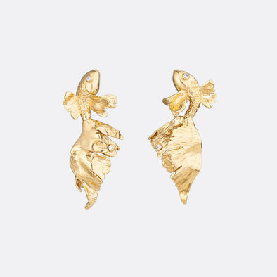 Carp Earrings