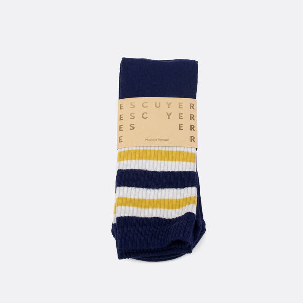 A pair of colorful socks to add a unique touch to your look.