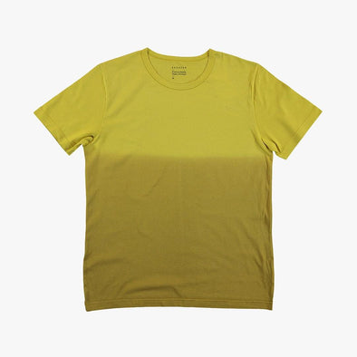 Relaxed fit green dregradé t-shirt.