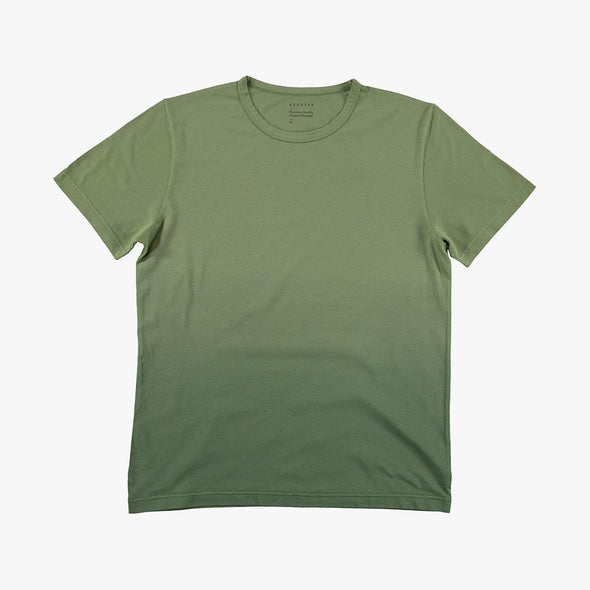 Relaxed fit green t-shirt.