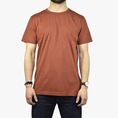 Relaxed fit copper t-shirt.