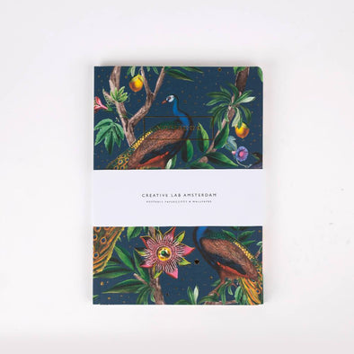Notebook Set with jungle and garden print.
