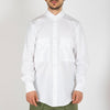 White shirt made from 100% cotton with a regular fit featuring two frontal military pockets.