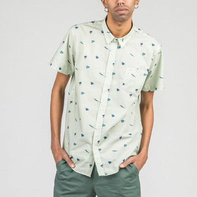 Short sleeved shirt with exclusive all-over print.