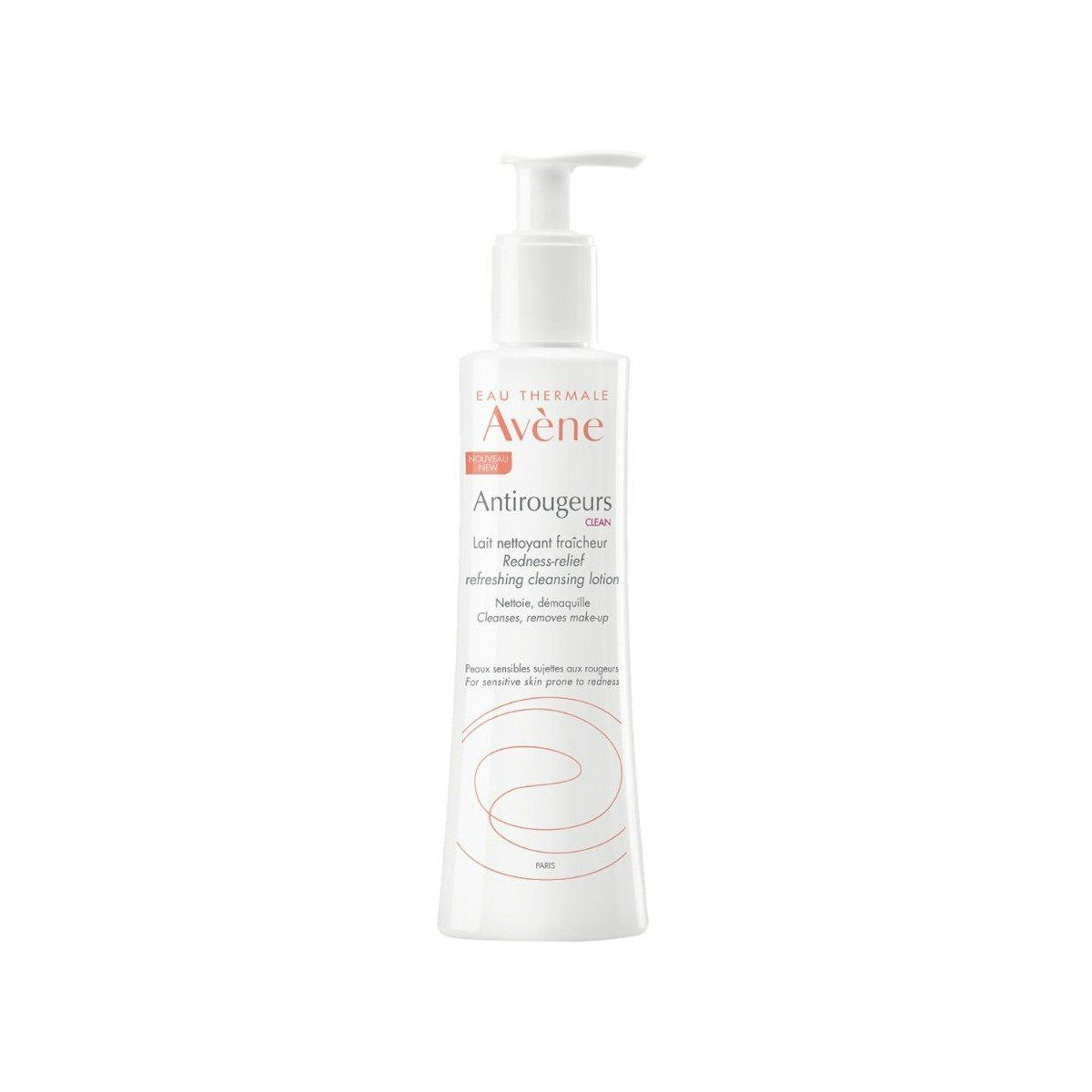 Avene Antirougeurs CLEAN Cleansing Lotion, 200ml