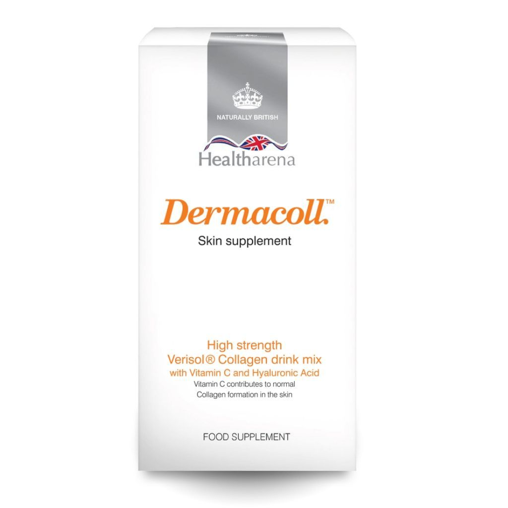 Dermacoll™ Collagen Drink Mix, skin supplement, approximately 30 servings, 1 month supply