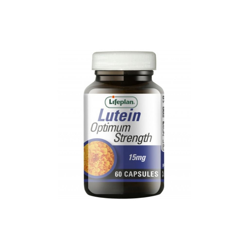 LifePlan Lutein Optimum Strength 15mg 60 capsules