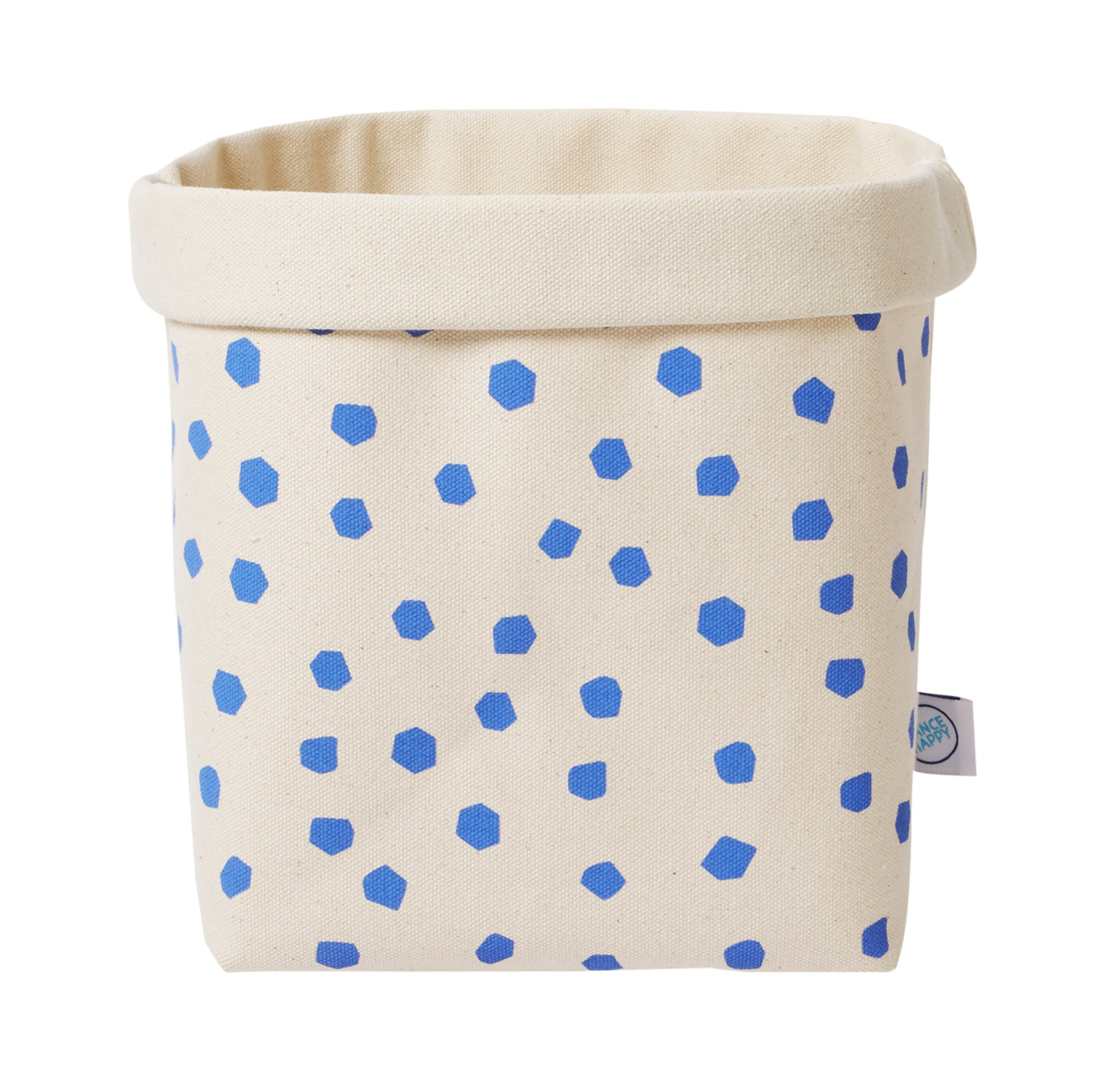 Speckled Canvas Bin