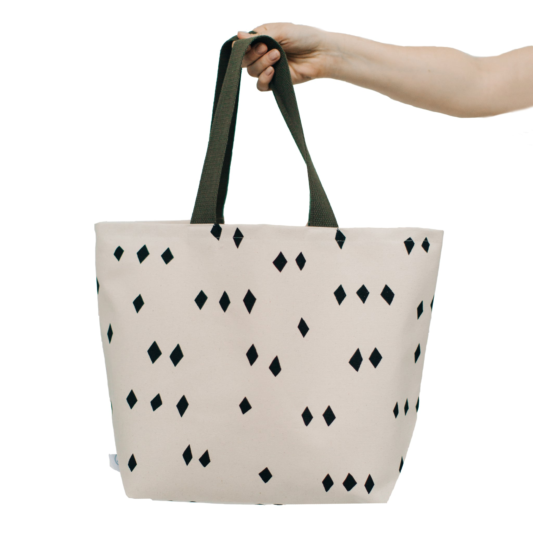 Scattered Diamonds Wide Tote