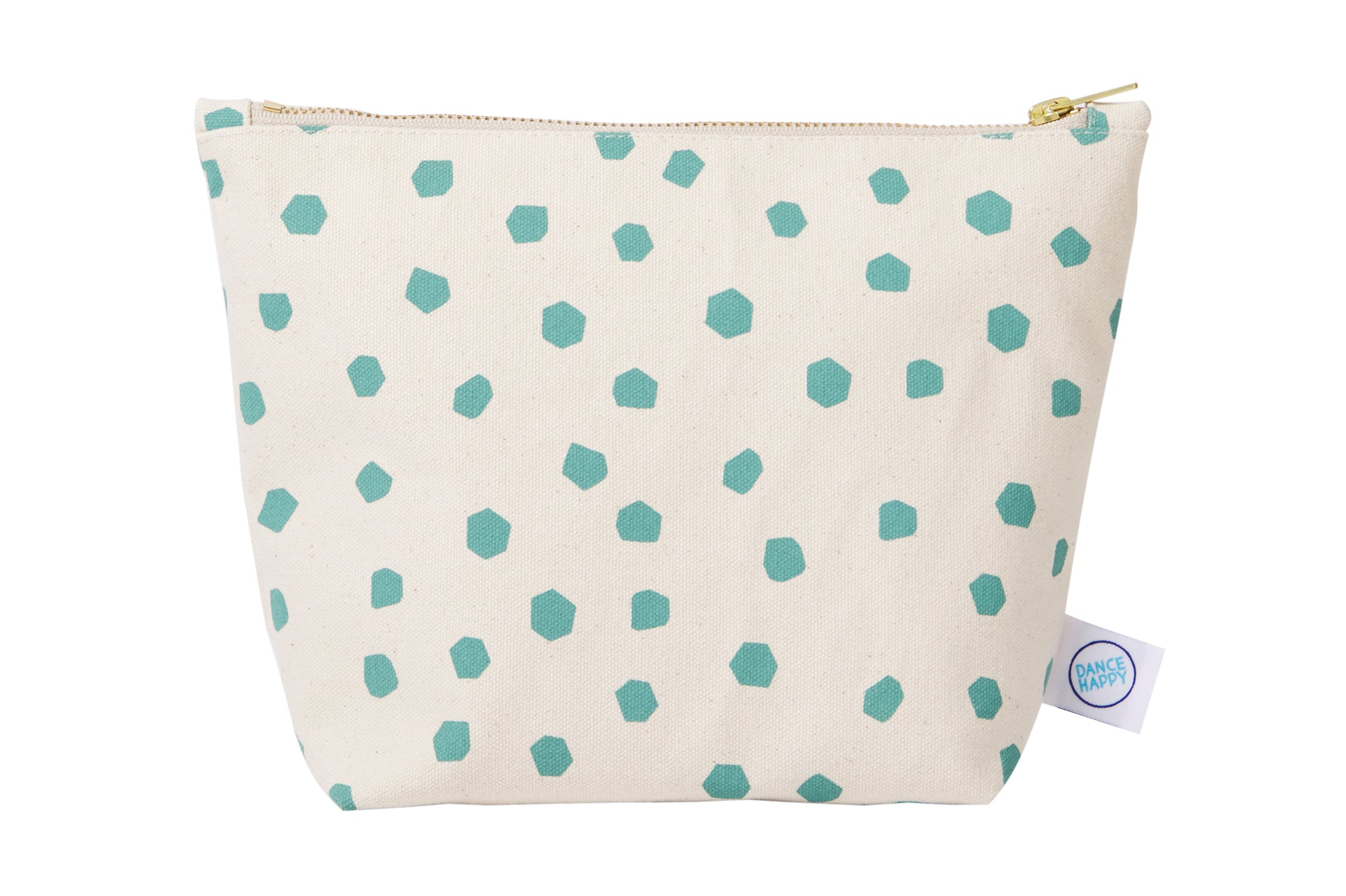 Speckled Zipper Bag
