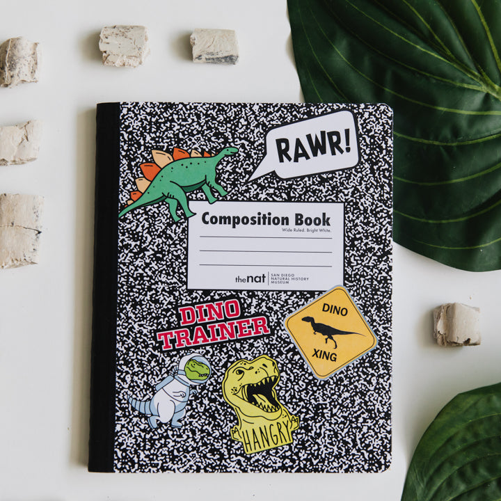 dinosaur composition book 1