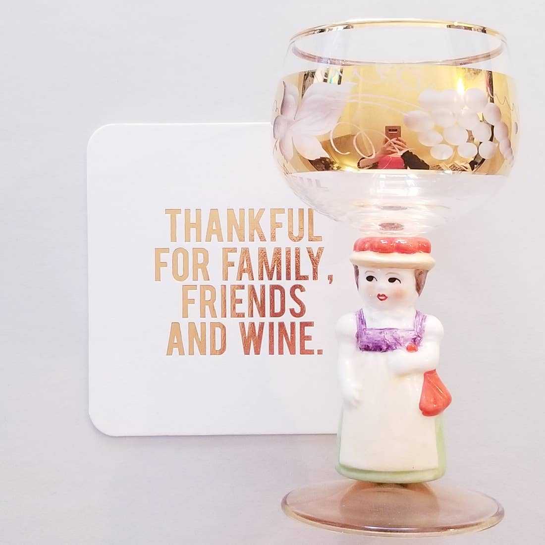 Thankful for Wine Coasters