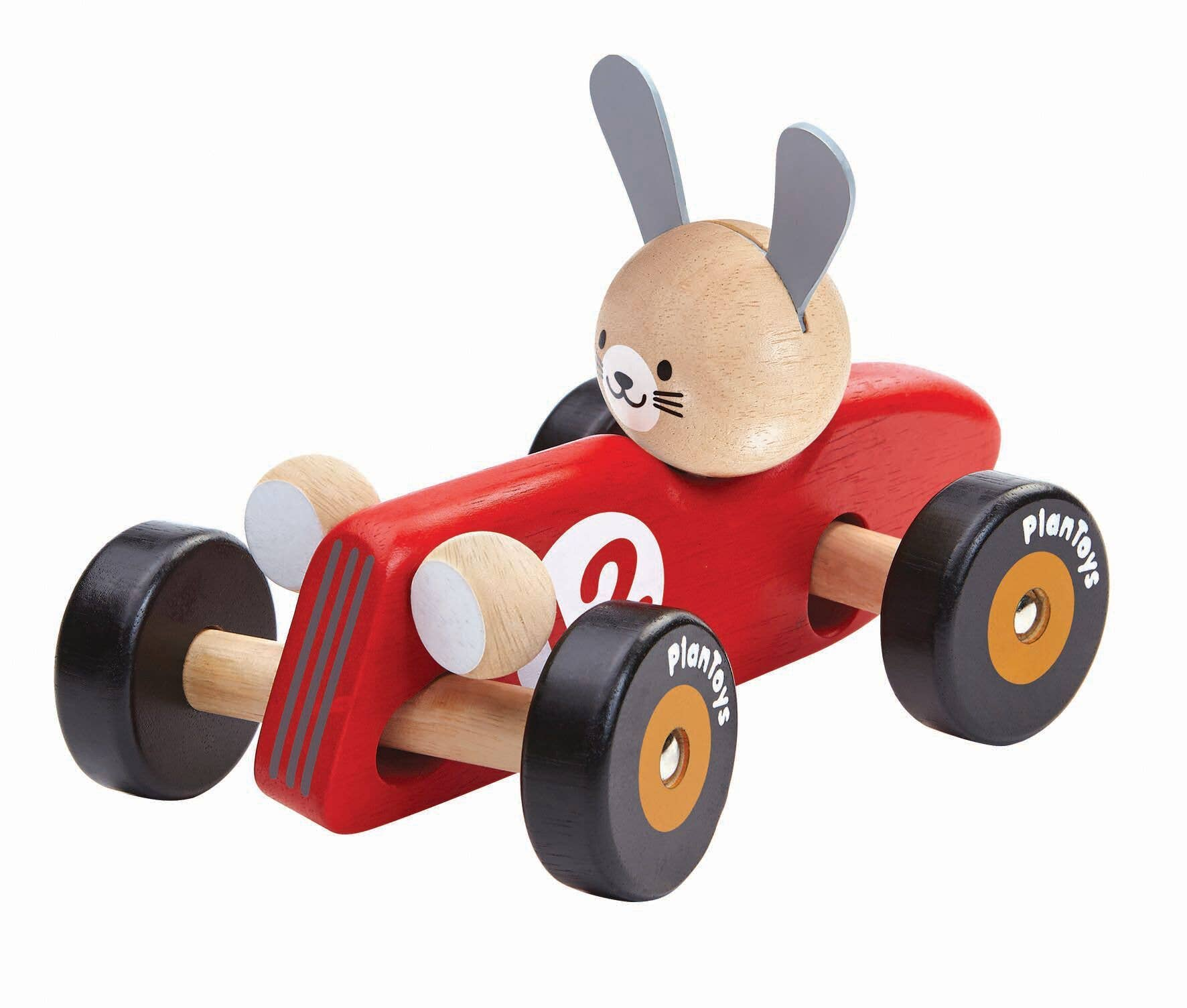 Red Rabbit Racing Car