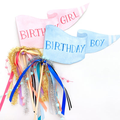 Birthday Boy Party Pennant