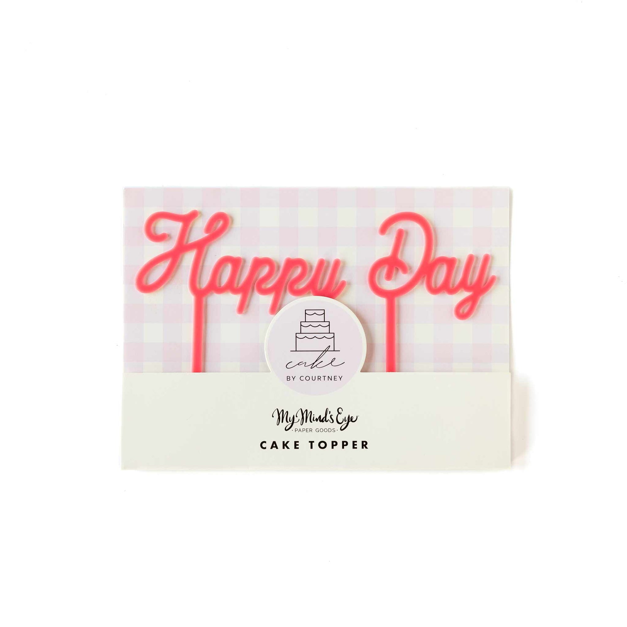 Cake By Courtney Happy Day Cake Topper