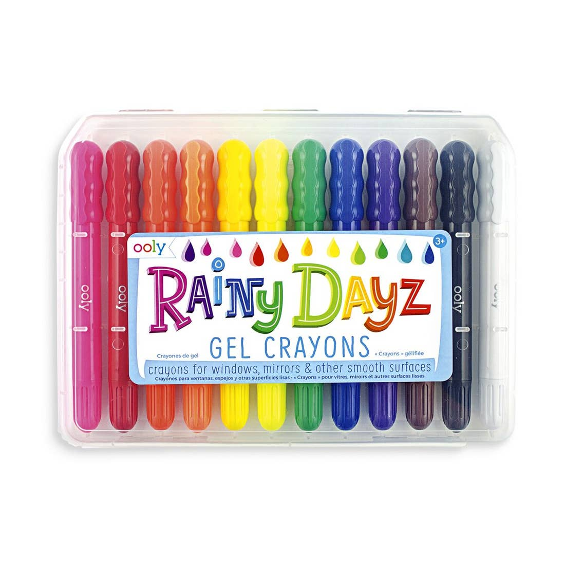 Rainy Day Gel Crayons