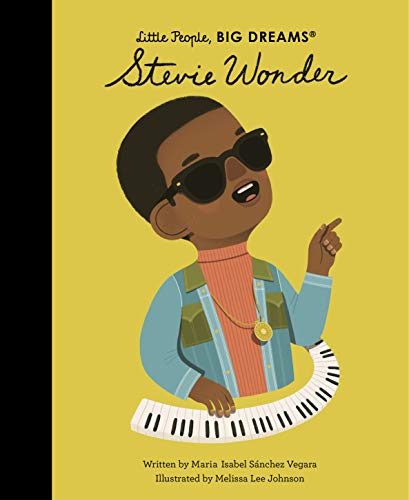 Little People Big Dreams Stevie Wonder