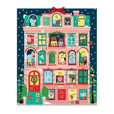 Santa Stop Here Advent Calendar