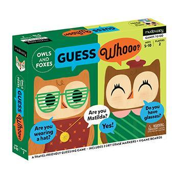 Guess Whoooo (Owls and Foxes)