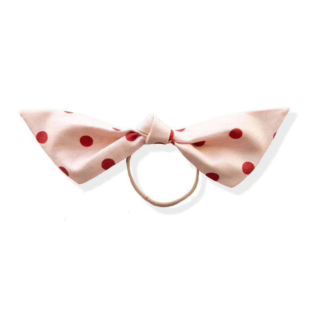 Be Mine Polka-Dot Modern Knot