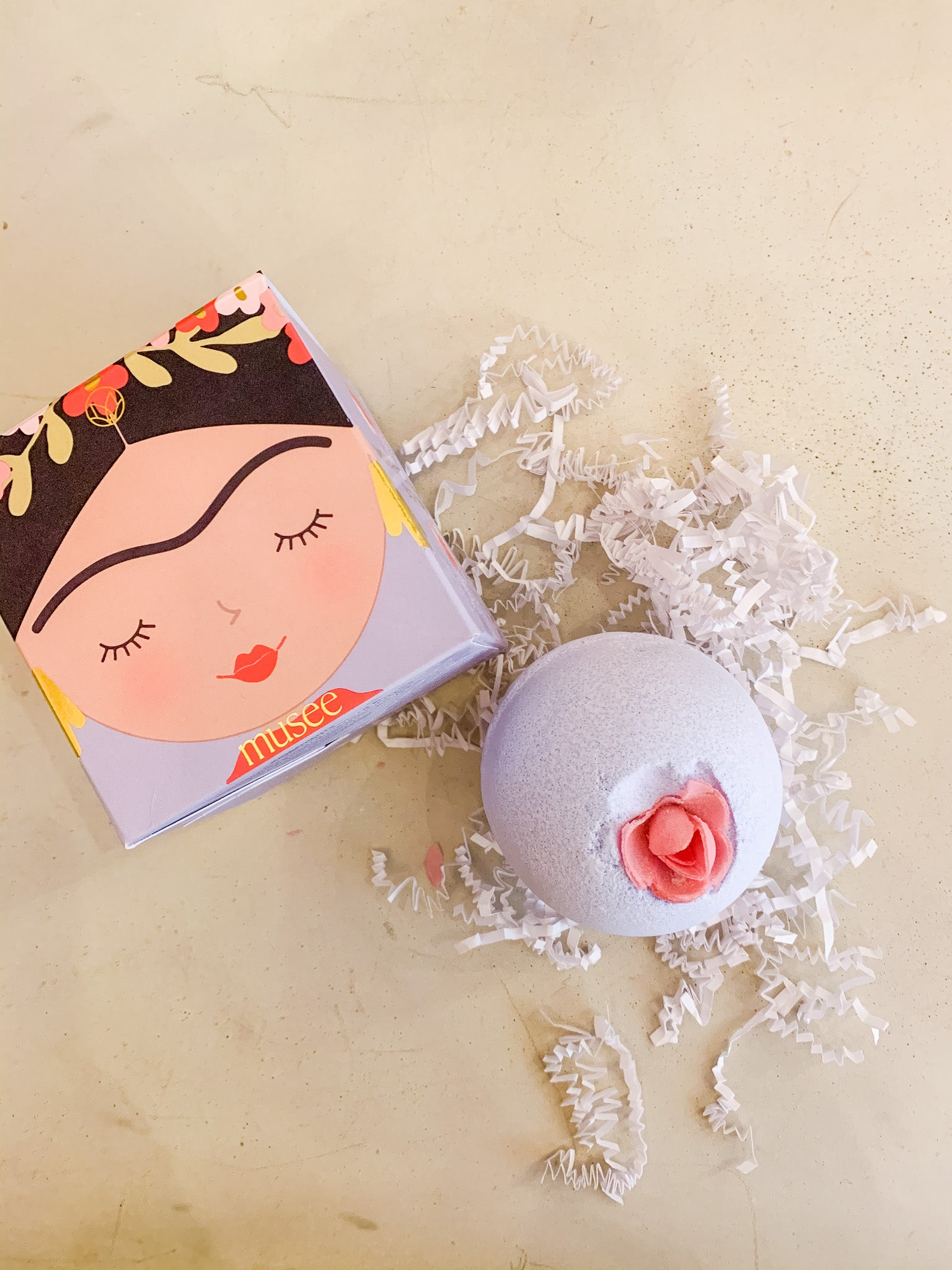 Frida Kahlo Bath Bomb