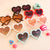 Scalloped Heart Shaped Sunglasses - Kids