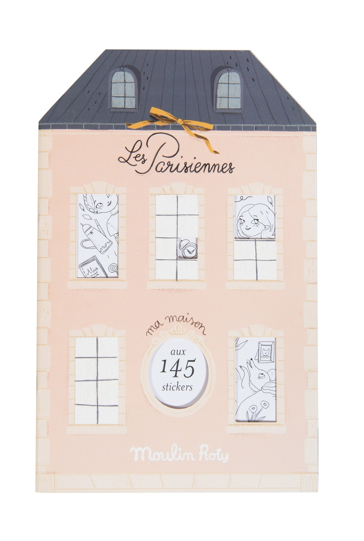 Les Parisiennes Coloring and Sticker Book