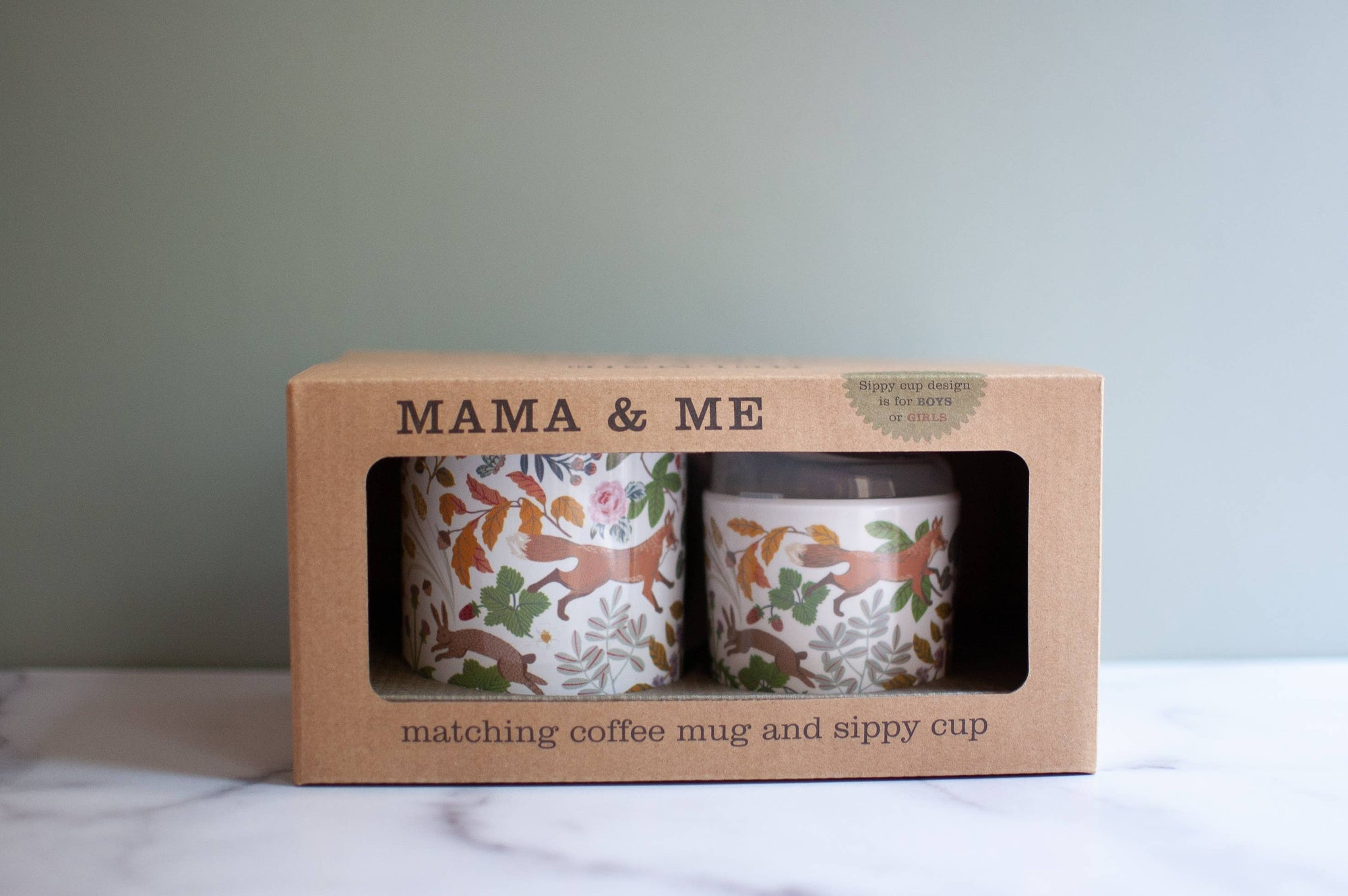 A Momma and Me Cup Set