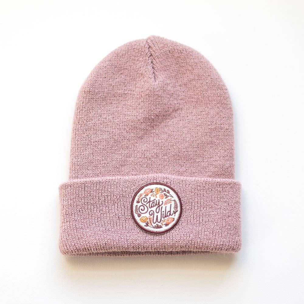 Stay Wild Rose Infant/Toddler Beanie