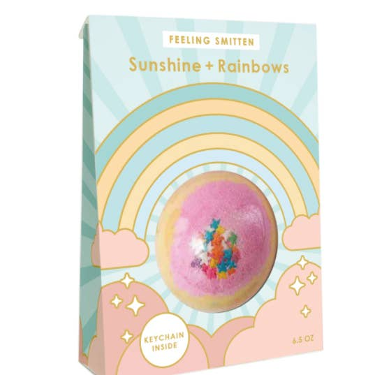 Sunshine and Rainbows Bath Bomb