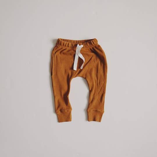 Ribbed Pocket Joggers Autumn Maple