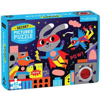 Superhero Secret Pic Puzzle