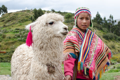 Alpaca Threadz - Peruvian with alpaca