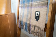 Load image into Gallery viewer, Tumi Alpaca Wool Throw Blanket - Plaid
