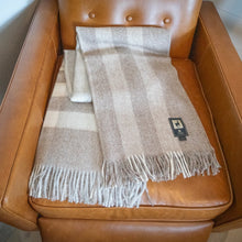 Load image into Gallery viewer, 100% Baby Alpaca Wool Throw Blanket - Eco