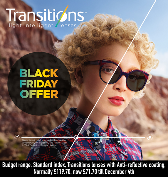 Budget Lens Transitions Offer