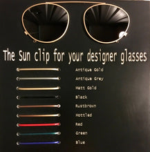 Load image into Gallery viewer, Custom Clip On Sunglasses