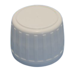 White Ribbed Cap ROPP with EPE Liner