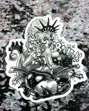 """Lady Liberty PinUps"" Sticker Pack"