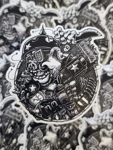 """Armed & Dangerous"" Sticker"