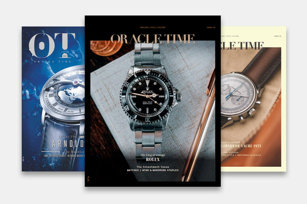 Oracle Time | Luxury Watches Magazine (No. 70)