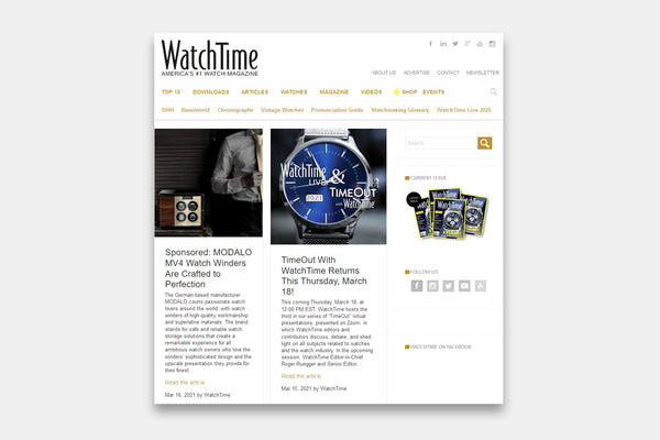 WatchTime | Americas No. 1 Watch Magazine