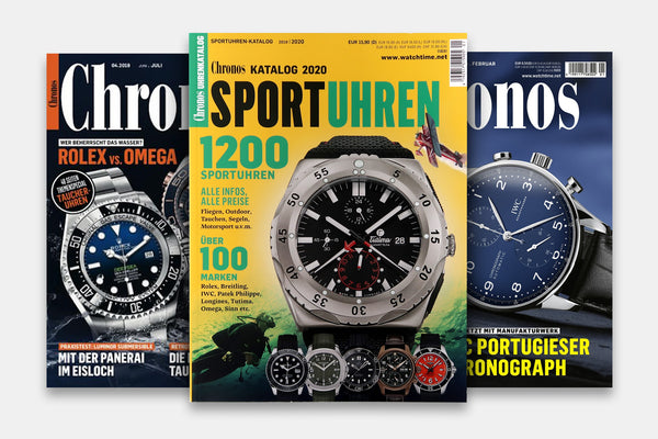 Chronos Watches Catalogue | 2019-2020