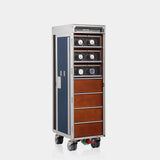 MODALO Airline Trolley  - Metallic Design - MODALO GmbH