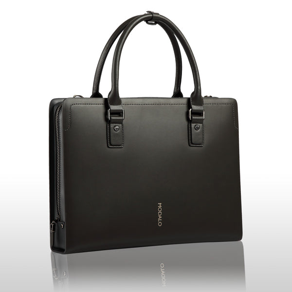 MODALO Business leather bag HONGKONG Brown (display model) - MODALO GmbH