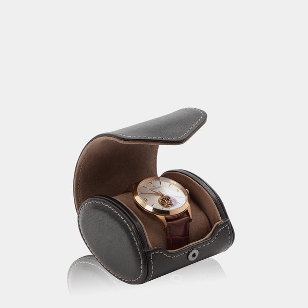 Watchcase Aquila for 1 watch Black - MODALO GmbH