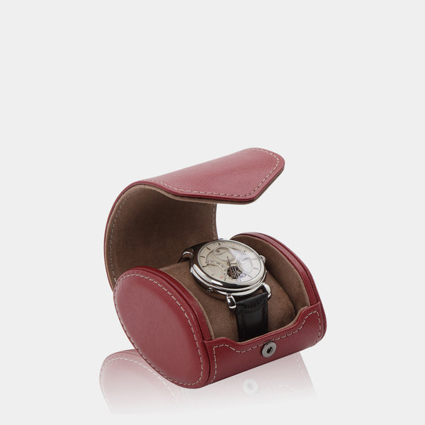 Watchcase Aquila for 1 watch Red - MODALO GmbH