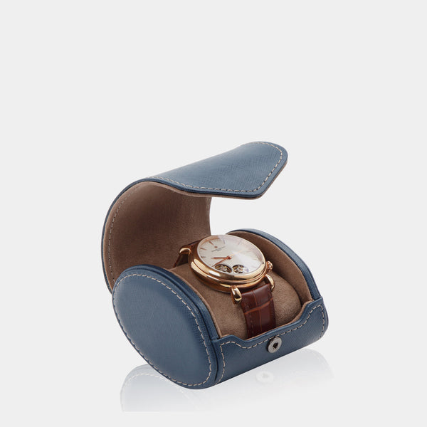 Watchcase Aquila for 1 watch Blue - MODALO GmbH