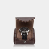 Watchcase Aquila for 1 watch Brown - MODALO GmbH